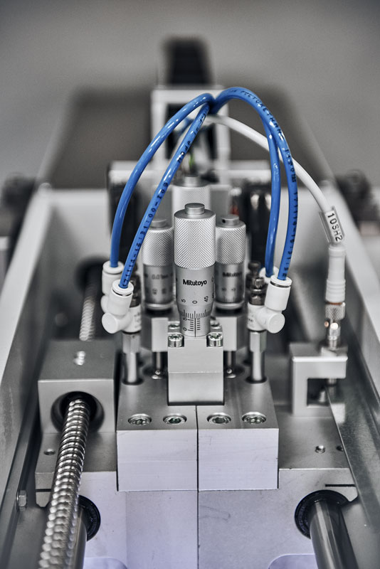 MICROMETER TO CONTROL THE PRINTING PRESSURE