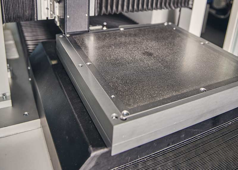 MICRO POROUS TABLE FOR FLEXIBLE SUBSTRATE & GREEN TAPE