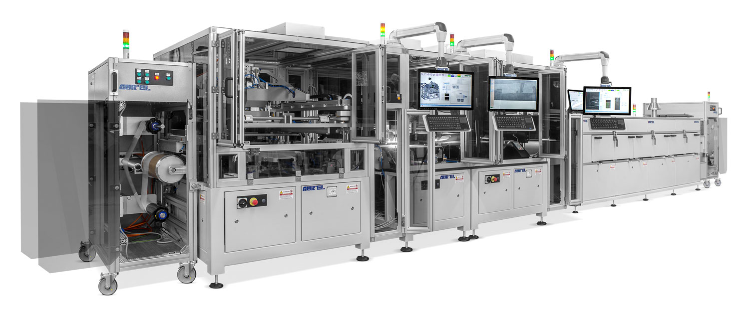 AUREL ROLL-to-ROLL Automatic Line