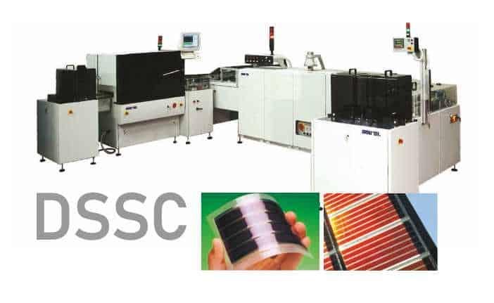 Dye-Sensitized Solar Cell Machines