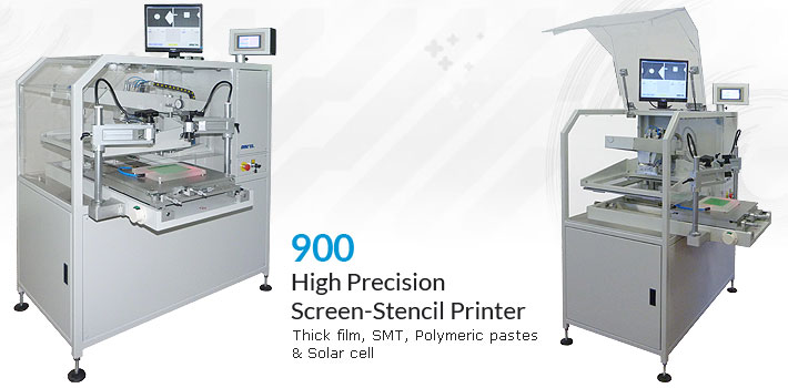high precision screen stencil printer