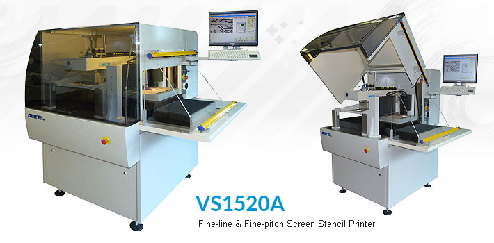 Fine-line & fine-pitch screen stencil printer VS1520A