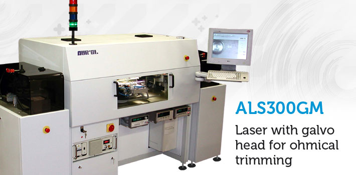 als300 laser galvo ohmical trimming