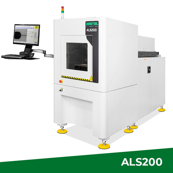 ALS200 CO2 Laser System has been designed for scribing, drilling and cutting