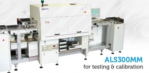 automatic line for testing and calibration