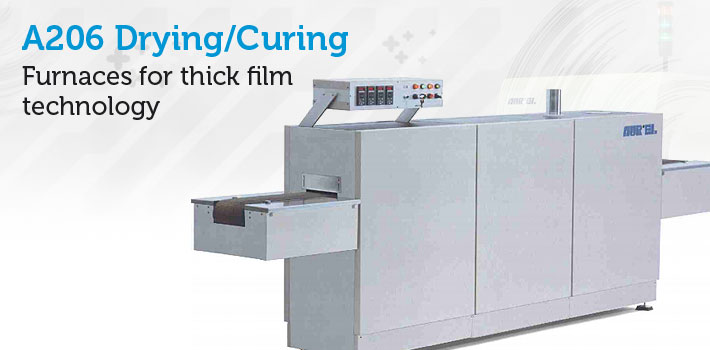 Dryer for thick film pastes - Curing adhesives, resins