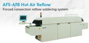 AF5 Forced convection reflow soldering system