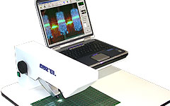 Screen frames, thickness measurer and programmable hole metallization (PHM).