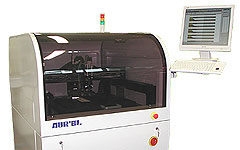 Flexible Workcell for Inspection, Dispensing, Spray coating, Ink-jet, Assembly, Laser machining.