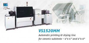 VS1520MM automatic printing & drying line for ceramic substrate