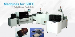 Fuel cells printing machines - SOFC Solid Oxide Fuel Cells.