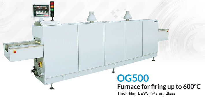 OG500 Furnace for firing up to 600°C