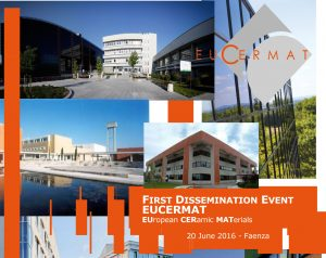 20 JUN, 2016 - EUCERMAT Project - First Dissemination Event