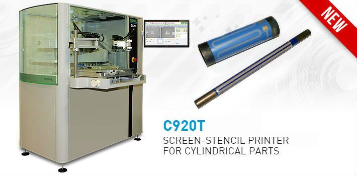 Screen stencil printer C920